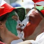 Italiako selekzioaren partida ez da kalean sexua izateko aitzakia nahikoa