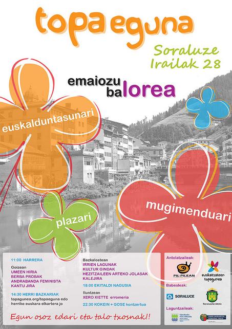 TopaEguna 2013 Soraluzen. Argazkia: www.hirinet.net