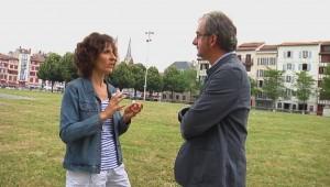 """Laida Mugica """"Euskaraz besta egin nahi dut"""" kanpainaren antolatzailea"""