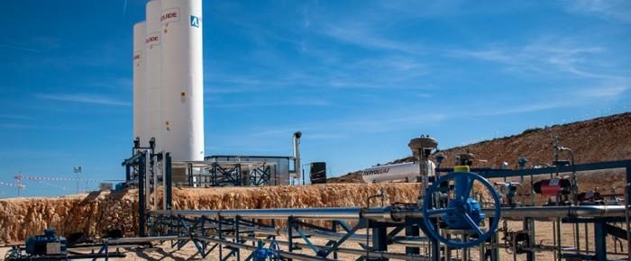 Karbono dioxidoaren lehen injekzioak hasi dituzte Espainian