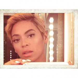 Beyonce, ilea moztuta. Argazkia: Instagram