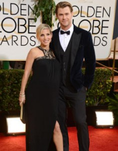 Elsa Pataky eta Chris Hemsworth