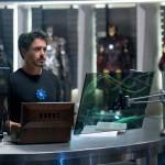 Iron Man 2 filmaren lehen irudia