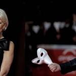 Helen Mirren eta Terry Gilliam Erromako alfonbratik igaro dira
